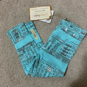 NWT loved baby leggings 12-18 month blue city